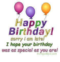 belated happy birthday | HAPPY BIRTHDAY TO OUR SWEET FRIEND KARA. LETS ROCK THIS PARTY.....