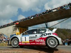 Peugeot 206 WRC rally car - Richard Burns & Robert Reid