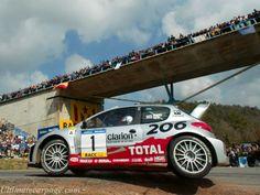 Peugeot 206 WRC rally car - Richard Burns & Robert Reid