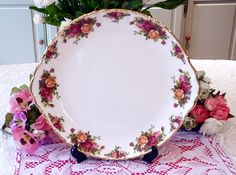Vintage plate for table names