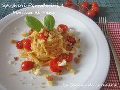 Spaghetti Pomodorini e Mollica di pane