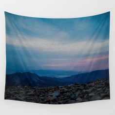 Buy Lone Peak by Lotus Effects as a high quality Wall Tapestry. Worldwide shipping available at Society6.com.