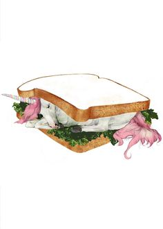 unicorn sandwich, kathryn macnaughton