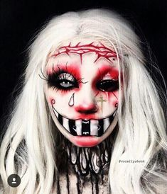 Recently, the number of those who have three-dimensional make-up is increasing. The reason for the increase in the use of makeup is that it is frequently used. Horror Makeup, Zombie Makeup, Clown Makeup, Fx Makeup, Costume Makeup, Beauty Makeup, Amazing Halloween Makeup, Halloween Face Makeup, Halloween Ideas