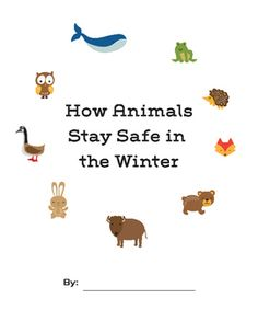 Science Workbook. Students will complete engaging packet which test their knowledge of hibernation, migration, and adaptation.