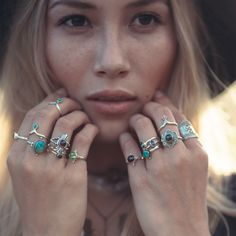 ✵ Heart of Gold Ocean Blues ✵ www.shopdixi.com ✵ shopdixi // dixi // boho // bohemian // grunge // witchy // opal // magical // mystical // enchanting
