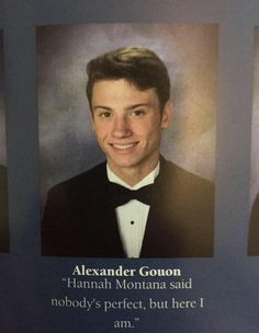 The Best Yearbook Quotes Most Funny Pictures And Quotes For 20182019 is part of Funny yearbook quotes - Are you searching for yearbook quotes Come check out our unique list of funny, inspirational, and celebrity senior yearbook quotes! Best Yearbook Quotes, Senior Yearbook Quotes, Yearbook Photos, Graduation Quotes Funny, Funny Yearbook Pictures, Senior Qoutes, Yearbook Ideas, School Pictures, Stupid Funny Memes