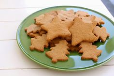 Incredibly Edible: Almond & Buckwheat Christmas Spice Cookies