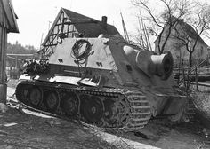 The Sturmtiger With 380mm Rocket Launcher – Facts & Pictures