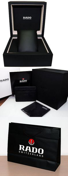 Manuals and Guides 93720: New Rado Watch Storage Case With Booklet, Gift Bag, And Polishing Cloth Box Set -> BUY IT NOW ONLY: $49.95 on eBay!