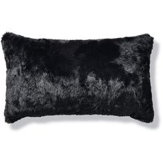 Luxury Faux Fur Lumbar Pillow in Panther ($60) ❤ liked on Polyvore featuring home, home decor, throw pillows, white faux fur throw pillow, faux fur throw pillows, frontgate, white accent pillows and white toss pillows