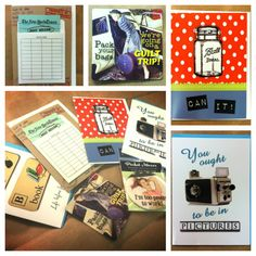 Hope from Minds Eye Design has graciously offered up a set of her cute and clever retro greeting cards, magnet, and mirror set for our art goody giveaway. Visit our blog to enter. Ends Sunday, January 5, 2014.