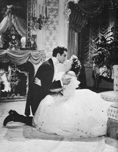 Robert Taylor and Greta Garbo in Camille (George Cukor, 1936)