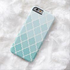 iPhone 6 Cases | Ombre Quatrefoil iPhone 6 case iPhone 6 Case