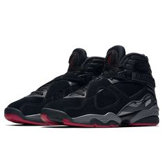 787372163f8010 Nike Air Jordan 8 Retro (305381-022) Black Gym Red Alternate Bred USD