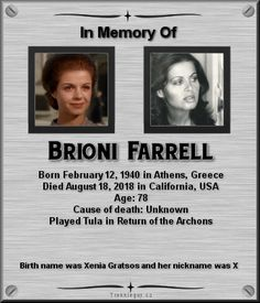 Brioni Farrell