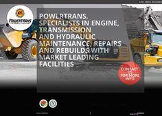 powertrans Website designed by Cimplicity Web Design Studio, Bespoke Design, Engineering, Marketing, Website, Custom Design, Mechanical Engineering, Technology