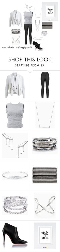 """""""Monday Motivation!"""" by lucypignatelli on Polyvore featuring Armani Jeans, T By Alexander Wang and Stella & Dot"""
