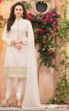Off-White Color Payal Collection Salwar Suit.