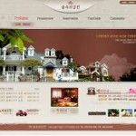 The-Korean-High-grade-Villa-Property-Sales-Coffee-Color-Website-Template-PSD-1