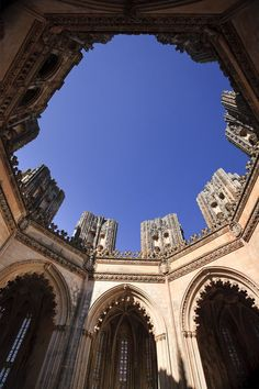 Unfinished Chapels, Monastery of Santa Maria da Vitoria (UNESCO World Heritage), Batalha, Estremadura