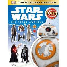 The Force Awakens: Ultimate Sticker Collections - Walmart.com