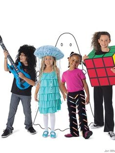 Kids costumes that are cheap and easy to make