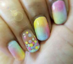 Bubble nails.