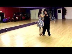 Argentine Tango steps: Sacadas-Barridas-Ganchos-Cadenas-Leg Wrap www.tangonation.com 12/29/2015 - YouTube