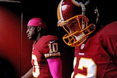 Hail RG3 & Kirk Cousins! These two just might take the Redskins to the playoffs.