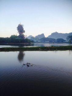 Kyaukkalap Pagoda@Hpa An