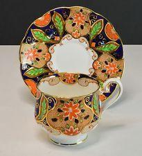 Royal Albert Crown China Imari Cup and Saucer #8510