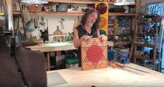 REFIT OR DIE - Episode 10 - Chinese Checker Tables  Such a wonderful flashback to my days in high school geometry. lol