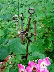 Skeleton Keys Wind Chime