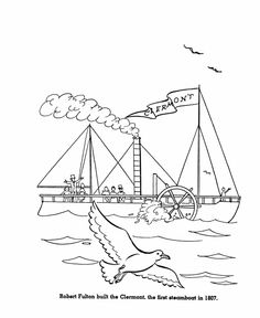 fultons clermont coloring page