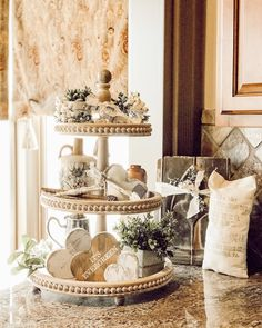 Makers everywhere! I'm loving on small business every day but this week we have challenged the community to… Lanterns Decor, Taste Of Home, Tray Decor, Seasonal Decor, Farmhouse Decor, Shabby, Display Stands, Cake Stands, Make It Yourself