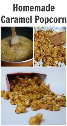 Homemade Caramel Popcorn Recipes