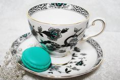 Vintage Tea Cup and Saucer by Royal Tuscan