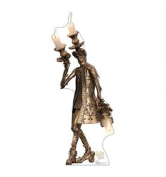 "This is a lifesize cardboard cutout of Lumière from Disney's Live Action Beauty and the Beast. The kind-hearted  but rebellious maître d'hôtel of the Beast's castle, who has been transformed into a candlestick by a terrible curse.  Capture the magic of this ""tale as old as time"" with this enhanting cardboard standup.  Perfect for parties, photo ops and Disney fans of all ages."
