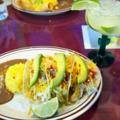 Fish Tacos & Margaritas at Las Americas in Fort Smith, AR! Some say this place has the best food in town. They do incredible Salvadorean specialties, too!
