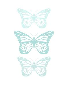 Free butterfly prints - perfect for spring