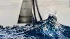 Drop in the ocean. Photo by Patrick Galloudec. The 20 best sailing images of 2013 - CNN.com