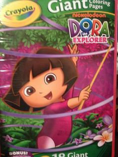 Dora The Explorer 11x16 Giant Coloring Activity Book 16 Pgs By Nickelodeon 448