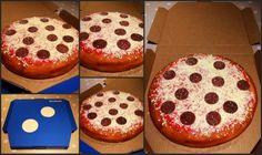 Pizza cake and video https://youtu.be/Tlfa13zECUI