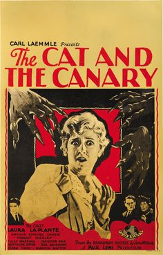 The Cat and the Canary' will be accompanied by live music by New Hampshire composer Jeff Rapsis, who specializes in silent film scoring. Description from silentfilmlivemusic.blogspot.com. I searched for this on bing.com/images