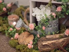 All décor and styling by Crow Hill Weddings and Fresh Flowers by Lily Blossom. Fresh Flowers, Crow, Wedding Decorations, Lily, Shades, Weddings, Spring, Plants, Shutters