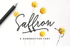 Saffron Handwritten