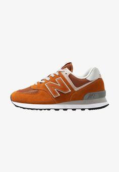 new balance ml 574 uomo pelle sneakers basse