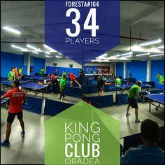 Turneul săptămânal #FORESTA etapa 164: 34jucători #pingpong #tenisdemasa #asztalitenisz #tabletennis #tischtennis #oradea