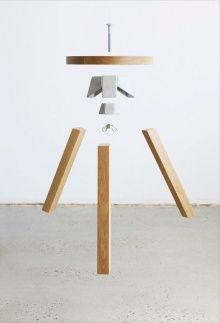 henry wilson self assemble stool